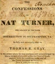 biography of nat turner essay